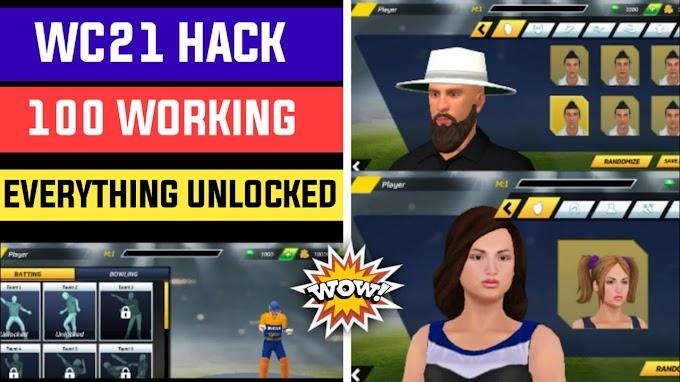 World Cricket 2021 All tournament Unlocked all Emotes Unlocked