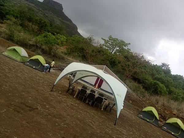 Camping near pawna lake