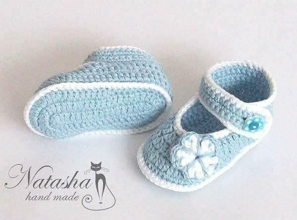 wzory botków dla niemowląt