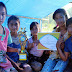 Demi Ikut Kemah Bakti Literasi, Bu Lina Rela Urunan Sewa Perahu Motor