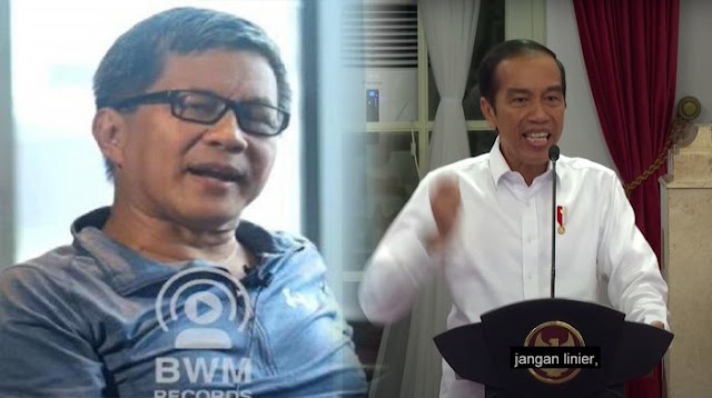 Video Jokowi Ancam Reshuffle, Rocky Gerung Anggap seperti Drakor Istana