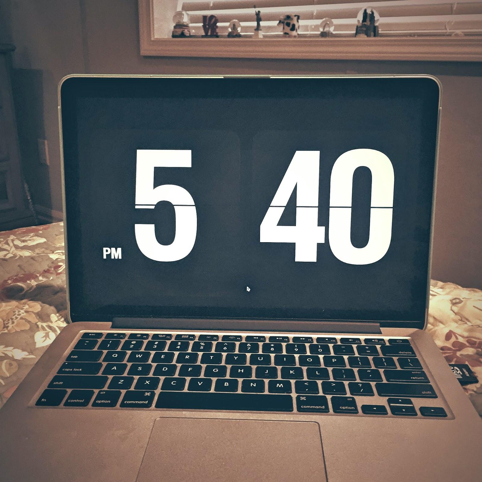 02ec67bd7 Como colocar relógio como protetor de tela do Macbook - Larissa Vale