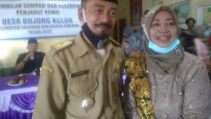 Camat Susukan Lantik Sukawi S.I.P Pejabat Sementara Kuwu Desa Bojong Kulon