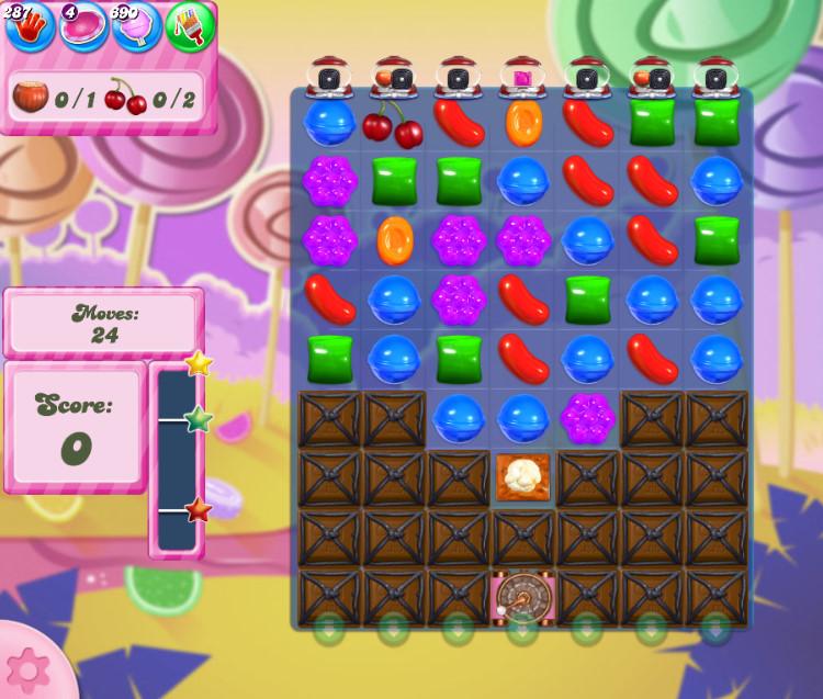 Candy Crush Saga level 2764