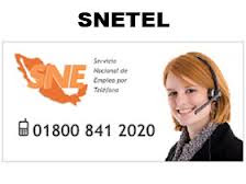 SNETEL Sistema nacional de Empleo por telefono 800 841 2020 en Mexico