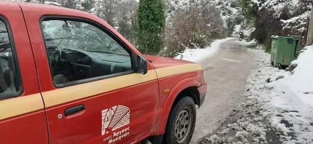 Ανοικτό το οδικό δίκτυο στην κοινότητα Αγίου Νικολάου του Δήμου Άργους Μυκηνών