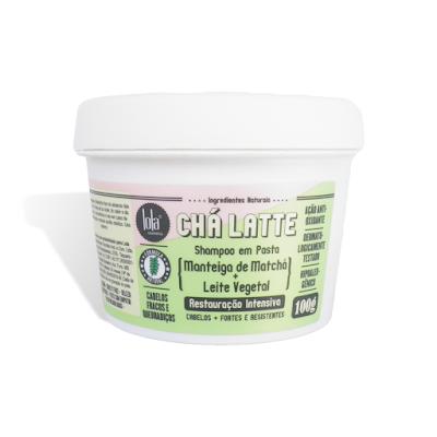Resenha Shampoo em Pasta Lola Matchá - Cha Latte com Leite Vegetal
