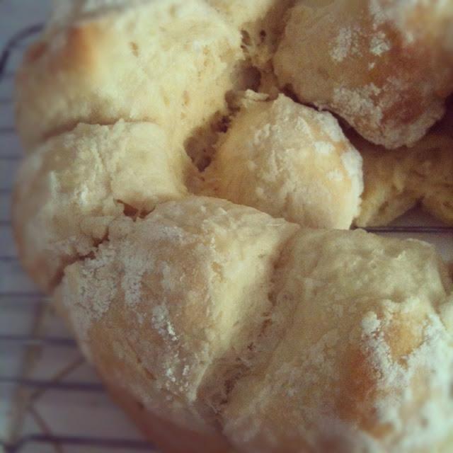 Flaky Butter Pull-Apart Rolls by freshfromthe.com
