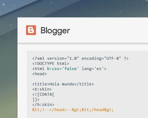 Borrar css javascript blogger