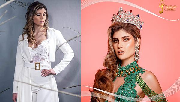 Viveka Hernández es  The Miss Globe Perú 2021