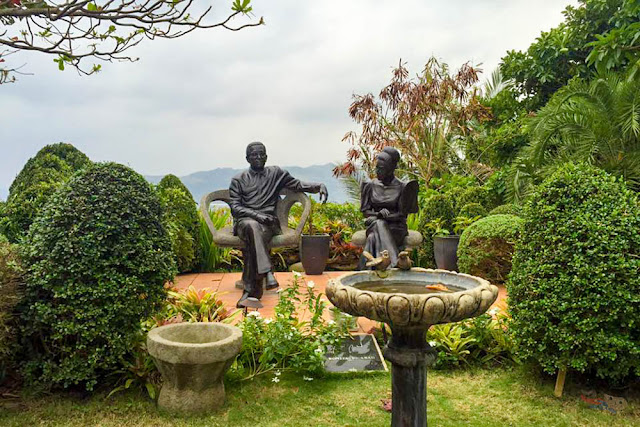 Garden view of Fundacion Pacita, Batanes