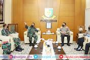Kadiv Propam Polri Temui Komandan Puspom TNI AD, Ini Tujuannya