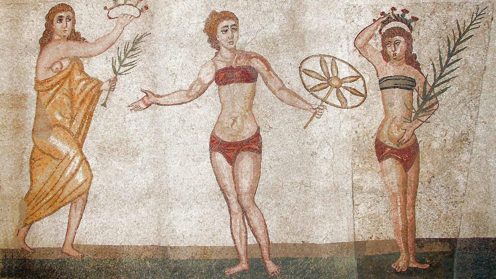Sejarah Pakaian Bikini di Sisilia Italia