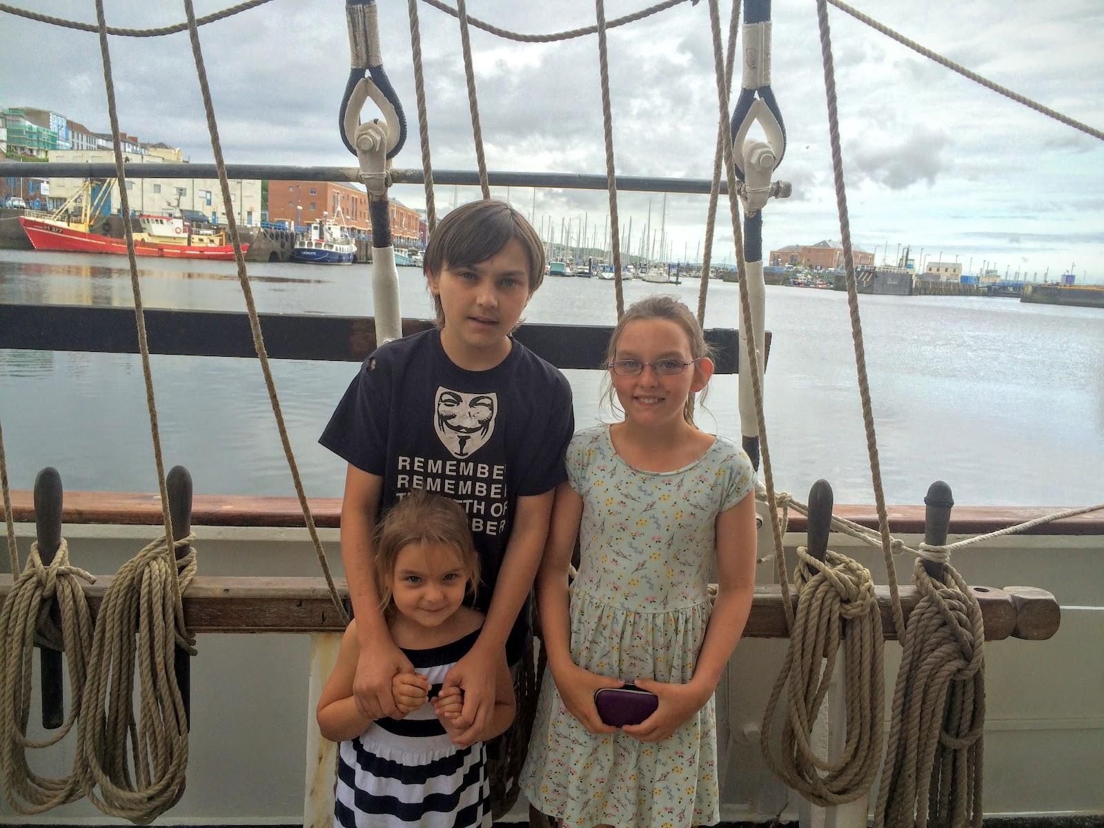 , All Aboard the Tall Ship Pelican of London