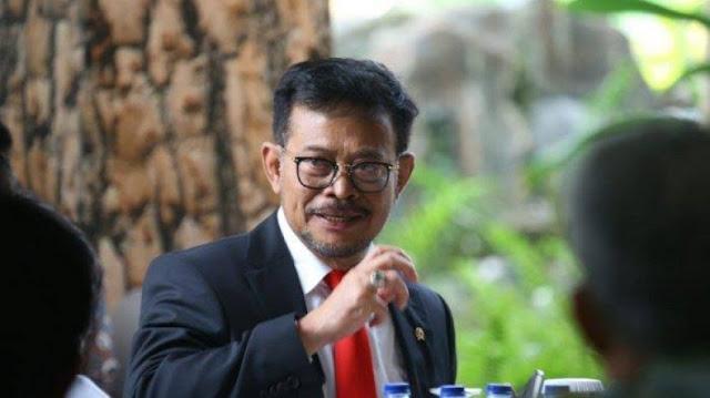 Syahrul Yasin Limpo: Kementerian Lain Tak Boleh Punya Data Pertanian
