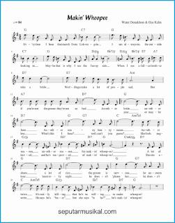 chord makin' whoopee 1 lagu jazz standar