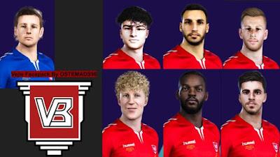 PES 2021 Vejle Boldklub Facepack by Ostemads98