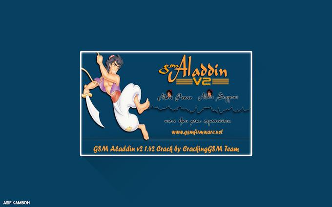 How to Crack GSM Aladdin V2 1.42 Program?