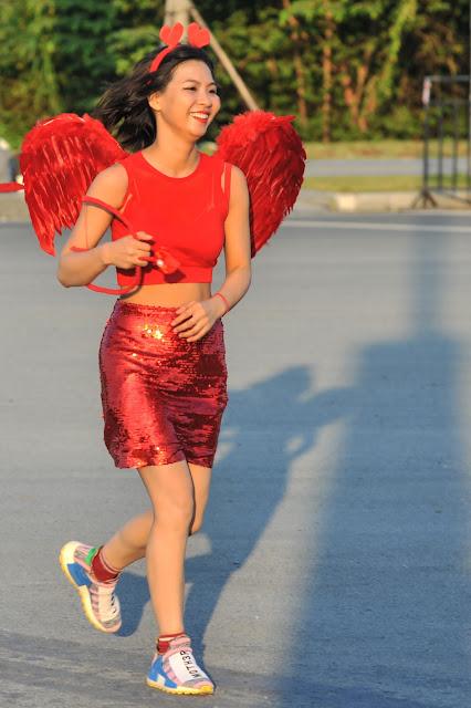 Frenetic athletics of International Marathon in Ho Chi Minh City