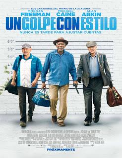 Ver Un Golpe Con Estilo (Going in Style)  (2017) película Latino