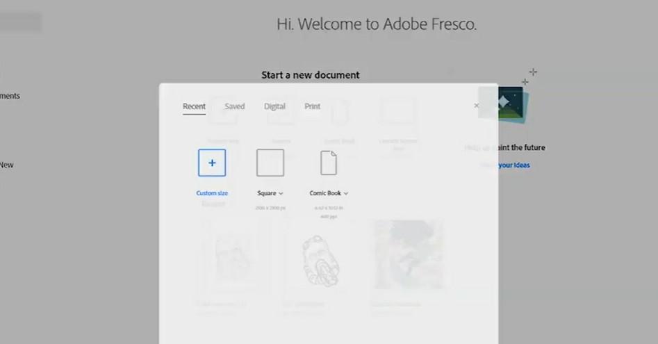 Kegunaan Adobe Fresco