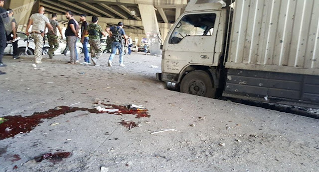 تفجير انتحاري ضخم في الميدان في دمشق