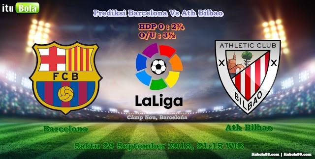 Prediksi Barcelona Vs Ath Bilbao - ituBola