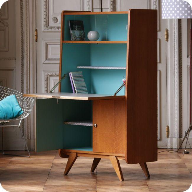 la fabrique d co le secr taire petit coin bureau pratique et d co. Black Bedroom Furniture Sets. Home Design Ideas