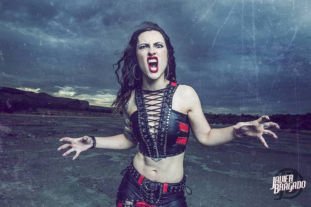 """ENTREVISTA: """"Nós já começamos a trabalhar em novos materiais para a banda"""", diz Diva Satanica (Nervosa)"""