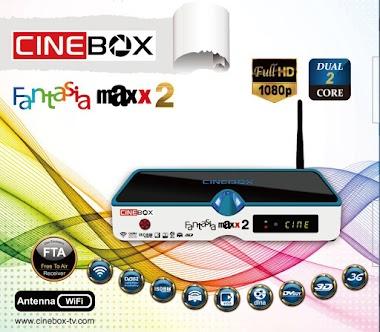 CINEBOX FANTASIA MAXX2 ATUALIZAÇÃO ALTERNATIVA 107W - 08/09/2019