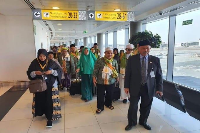 KBRI Dampingi 124 WNI saat Transit di Bandara Abu Dhabi
