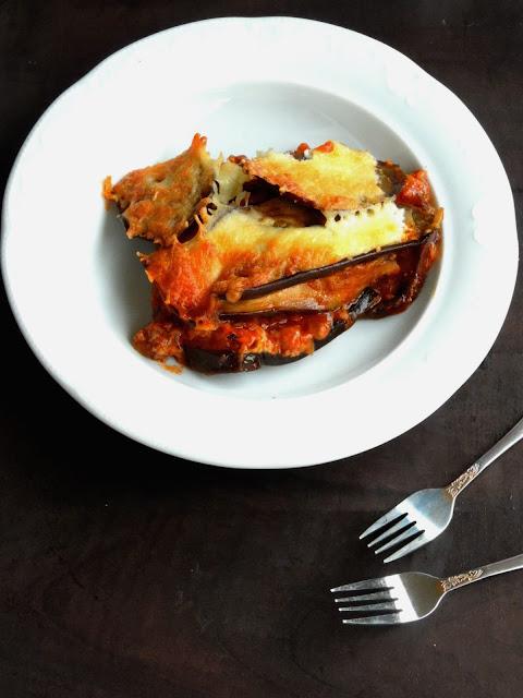 Gluten free Eggplant Lasagna, Aubergine Lasagna