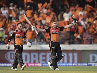 SRH vs KKR 38th Match IPL 2019 Highlights