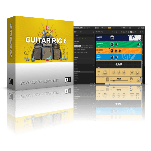 Native Instruments Guitar Rig 6 Pro v6.0.3 Full version