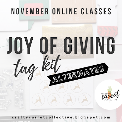 Crafty Carrot Co. Classes November 2019 - Stampin' Up!