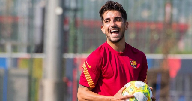 Girona has officially completed the signing of  Barcelona B midfielder Monchu on loan for just €3.5m