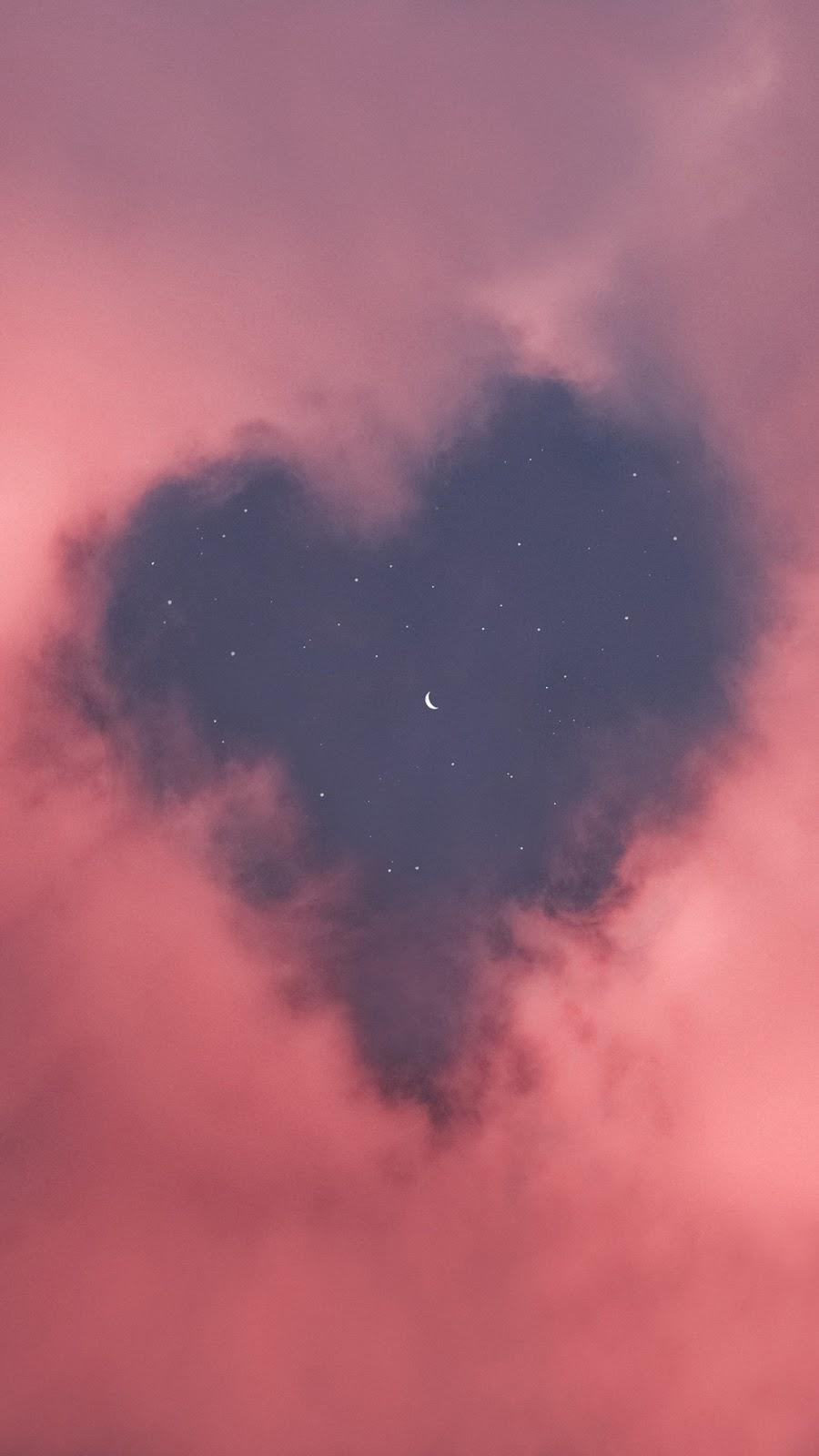 Bầu trời hình trái tim
