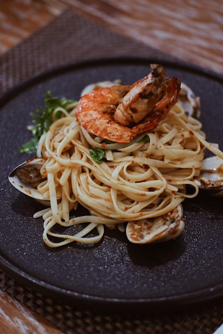 Signature Seafood Pasta OldTown Jogja
