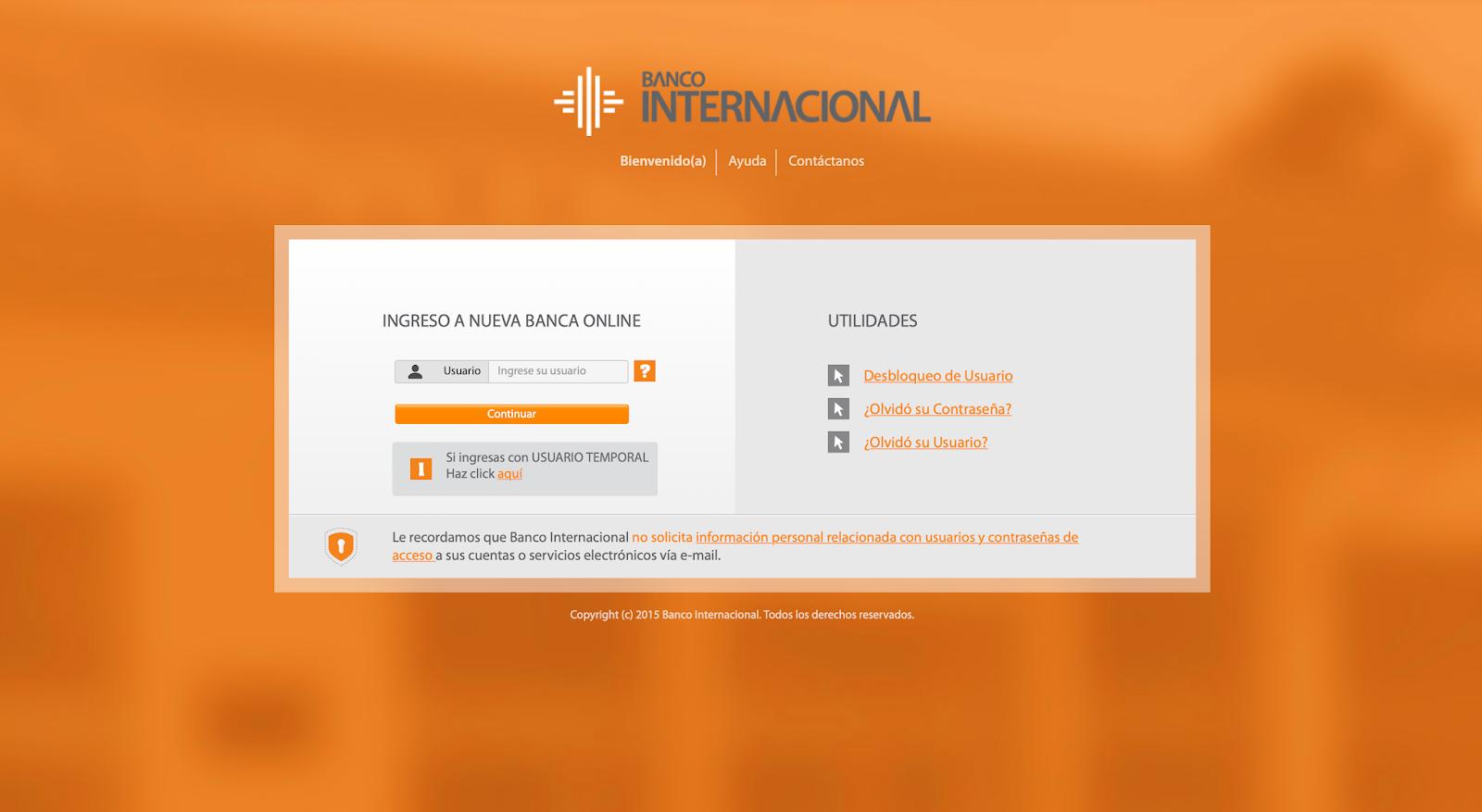 Banco Internacional pone a disposición sus servicios digitales para evitar salir de sus casas