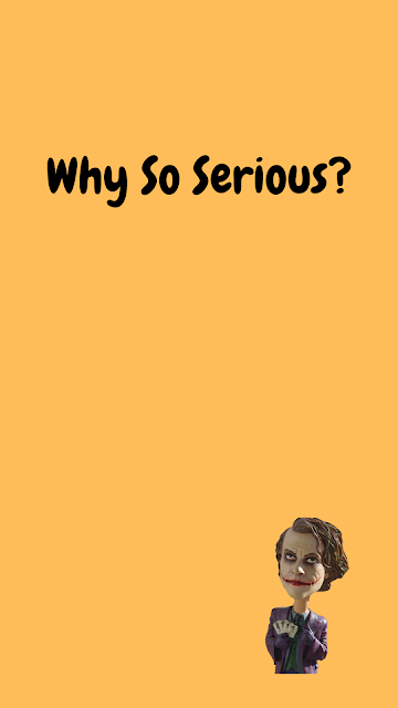 Why so serious android wallpaper