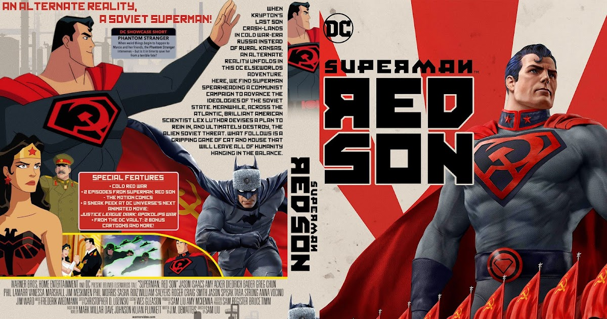Superman Red Son Dvd Cover Cover Addict Free Dvd Bluray Covers And Movie Posters