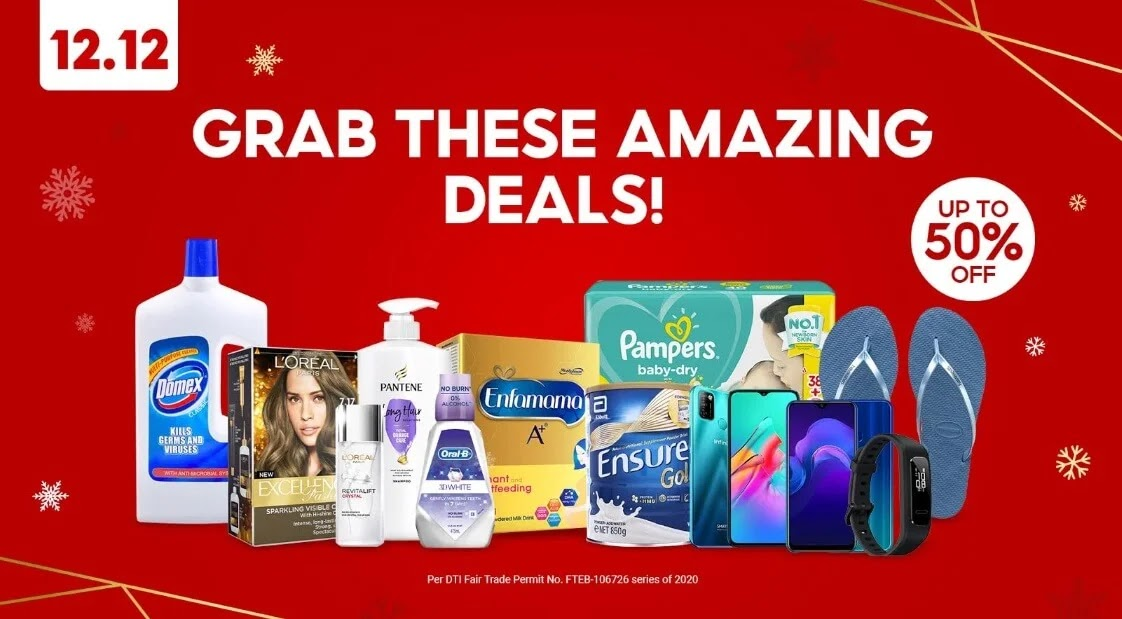 Shopee 12.12 Big Christmas Sale
