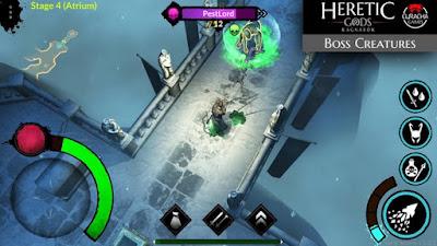 لعبة Heretic Gods مهكرة للأندرويد، لعبة Heretic Gods كاملة للأندرويد