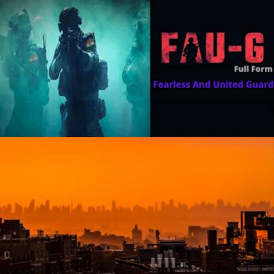 FAU-G Full Form