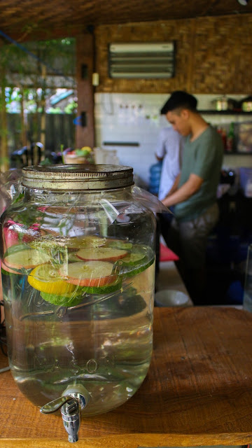 infused water sade tropical kitchen