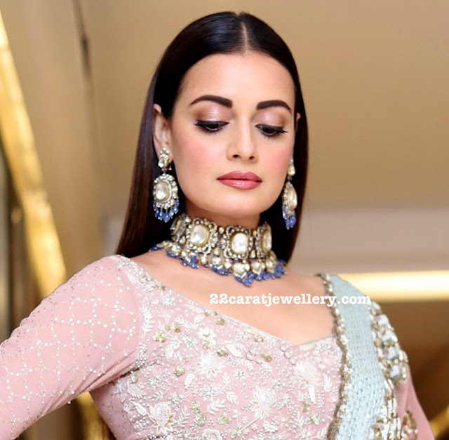 Dia Mirza Grand Polki Choker by Birdhichand