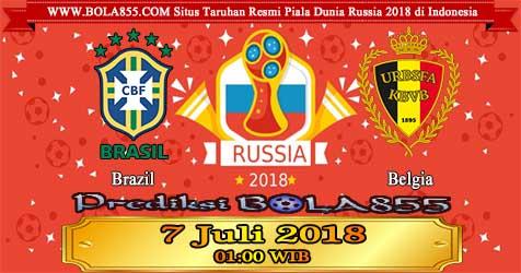 Prediksi Bola855 Brazil vs Belgium 7 Juli 2018