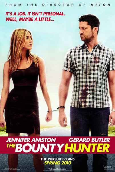 Poster of The Bounty Hunter 2010 720p Hindi BRRip Dual Audio Full Movie Download