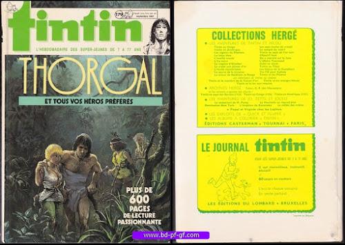 Recueil Tintin, Thorgal