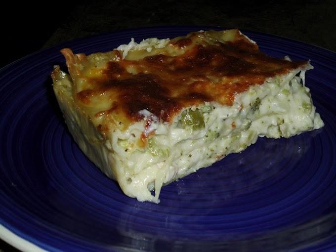 Chicken and Broccoli Lasagna